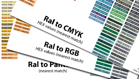 hex to ral converter online